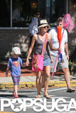 Naomi Watts headed out for a play date with her son, Samuel, in the Hamptons.
