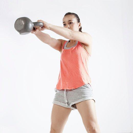 20 Minute Full Body Kettlebell Shred: POPSUGAR Fitness
