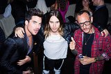 Adam Lambert, Jared Leto, and Terry Richardson got together for the VMAs afterparty.