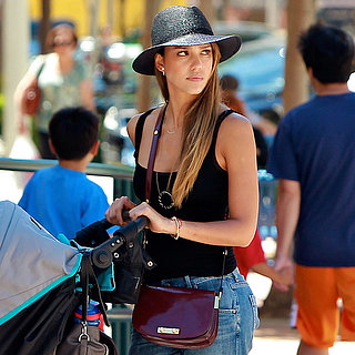 Jessica Alba Reveals the Easiest Way to Remix Your Boyfriend Jeans