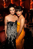 Lea Michele and Idina Menzel made a gorgeous duo during the 2010 Tony Awards in NYC.