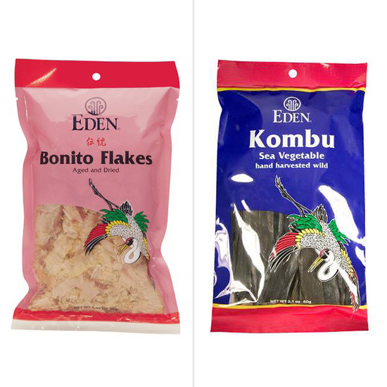 Bonito Flakes and Kombu