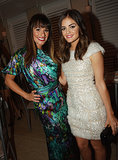 Lea Michele posed with Lucy Hale during a Nylon magazine party in her honor in LA in September 2012.