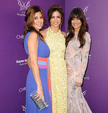 Lea Michele made sure to pose for photos with her friends Jenna Dewan and Jamie-Lynn Sigler at the Chrysalis Butterfly Ball in LA in June 2012.