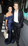Lea Michele and The Vampire Diaries star paul Wesley met up at the Glamour Women of the Year Awards in London in May 2012.
