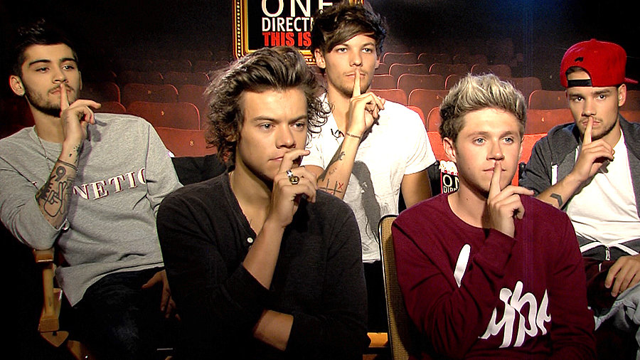 One Direction on Getting Naked and Dating Fans!