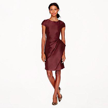 Pre-order Carson dress in silk dupioni