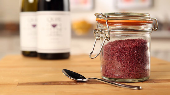 Add Flourish to Meals With Homemade Red Wine Sea Salt