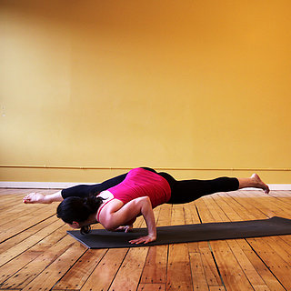 Strike a Yoga Pose: One-Legged Arm Balance