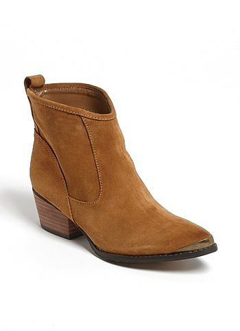 Chinese Laundry 'Ideal' Bootie Womens Dark Camel Size 10 M 10 M