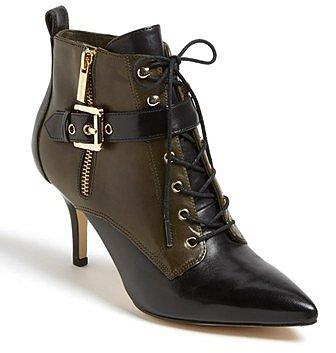 MICHAEL Michael Kors 'Brena' Bootie Womens Loden Size 9.5 M 9.5 M
