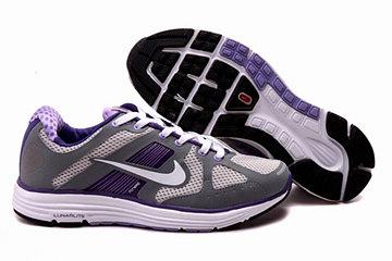 Nike LunarElite+ Gray Purple Womens Shoes