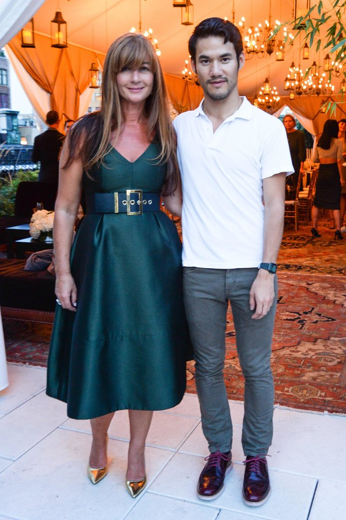 Deborah Lloyd and Joseph Altuzarra joined to celebrate the designer's Vogue campaign at a dinner at New York's Nomad Hotel.
