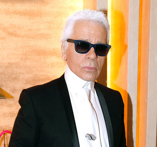 7. Karl Lagerfeld Creates a Candle