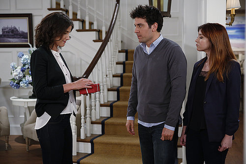 How I Met Your Mother Cobie Smulders, Josh Radnor, Alyson Hannigan on How I Met Your Mother.