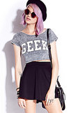 Geek goes grunge with this crop top ($15).