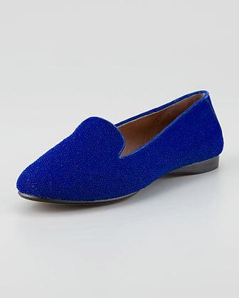Donald J. Pliner Denda Sparkle Loafer, Royal Blue