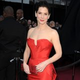 Sandra Bullock Wearing Red Dresses | Pictures