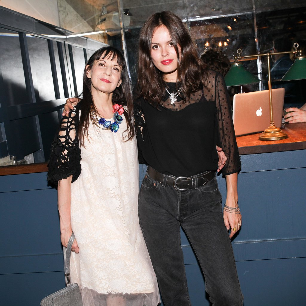 Atlanta de Cadenet Taylor joined Karen Erickson at the Erickson Beamon Rocks event at the Soho House in NYC.