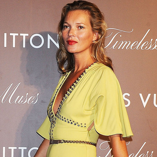 Kate Moss Pictures at Louis Vuitton Exhibition in Tokyo