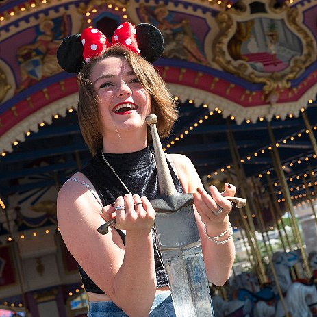 Maisie Williams Pictures at Disney World