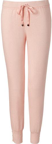 Juicy Couture Petal Pink Lace-Trimmed Pants