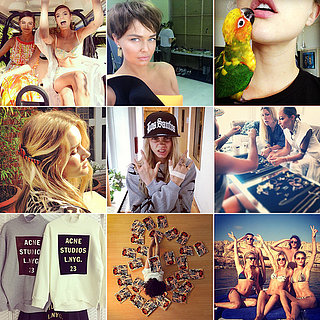 Celebrity Fashion & Beauty Instagram Pics: Lara, Cara & More