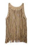 For those with a bit of boho in their soul, Forever 21's fringed vest ($43) is a playful piece to wear over a tee or simple dress.