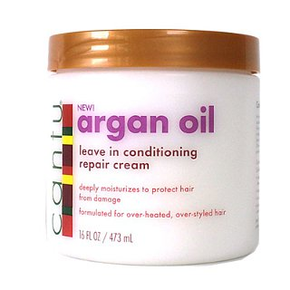 Cantu Argan Oil Leave-In Conditioning Repair Cream Review