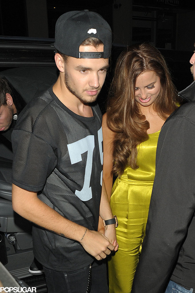 Liam Payne went out with his girlfriend, Sophia Smith, on Thursday night.