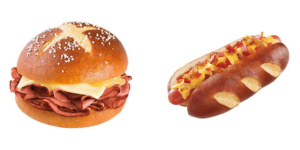 Pretzel Buns Dominate the Fast Food Scene