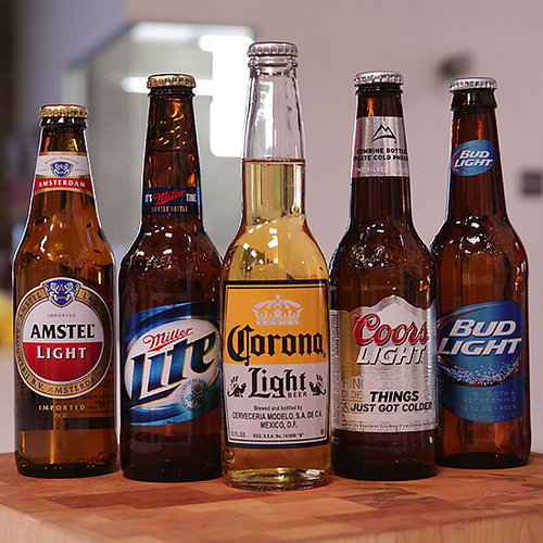 Light Beer Taste Test | Video