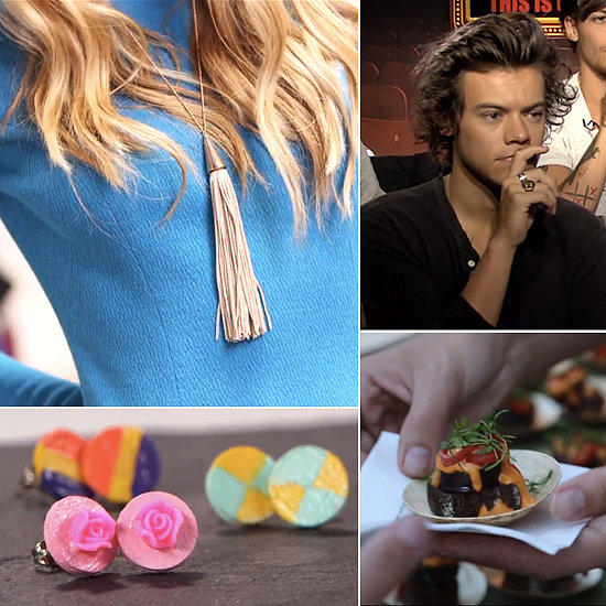 Fantastic Fall Clothing, DIY Earrings, and One Direction: The Best of POPSUGAR TV This Week