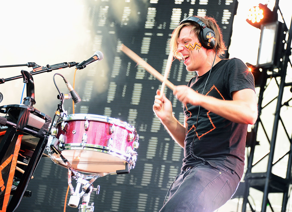 Robert DeLong performed at the festival.