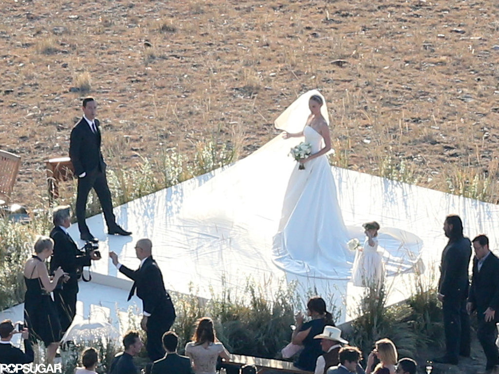Kate Bosworth got married in Montana.