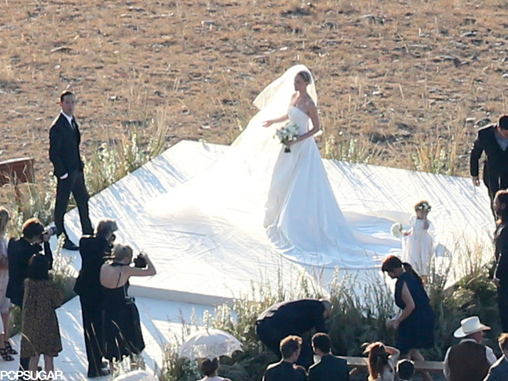 Kate Bosworth got married on a Montana ranch.