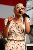 Emeli Sandé performed on day one of the Made in America Festival.