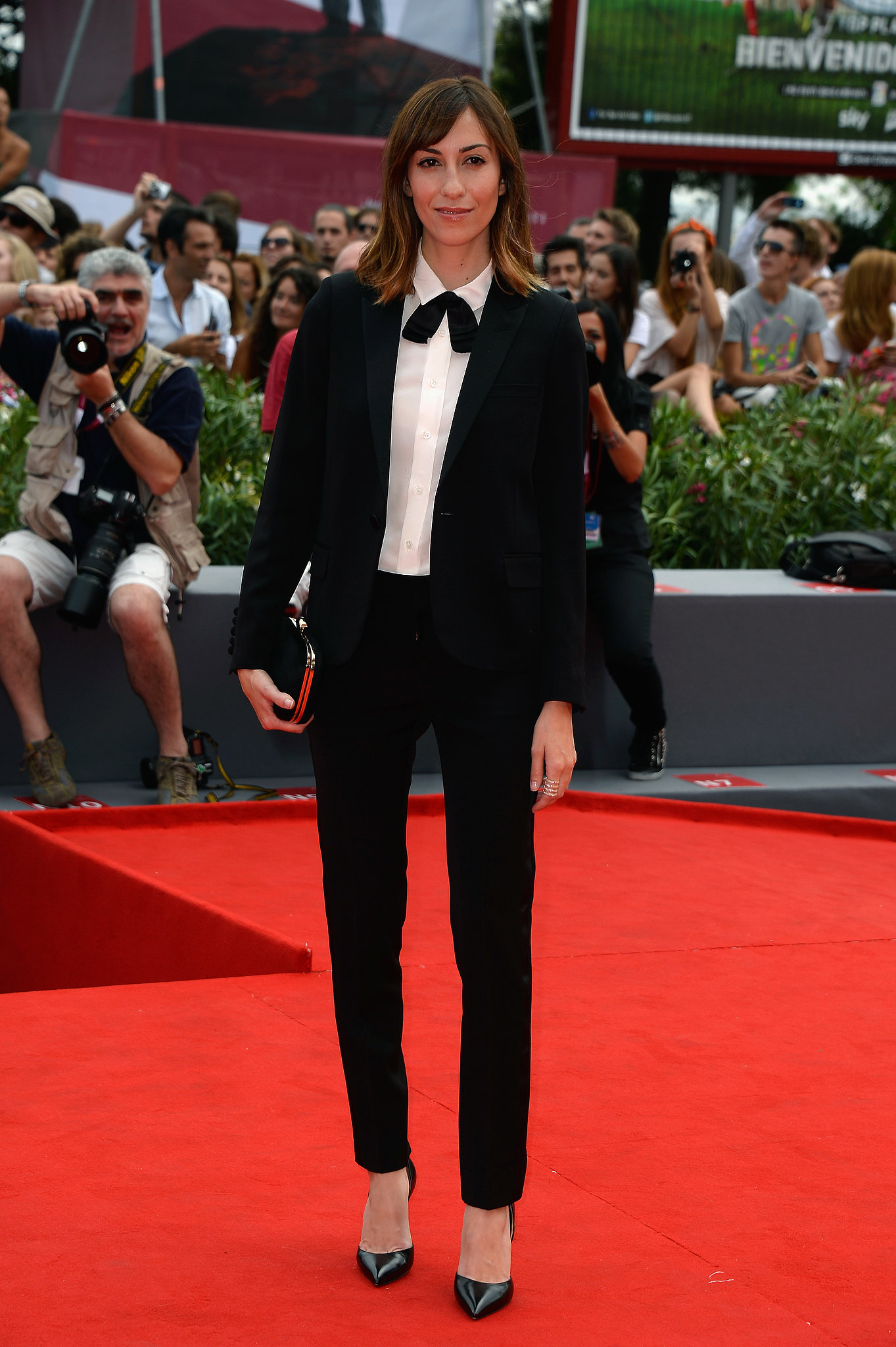 Gia Coppola attended the Venice Film Festival.