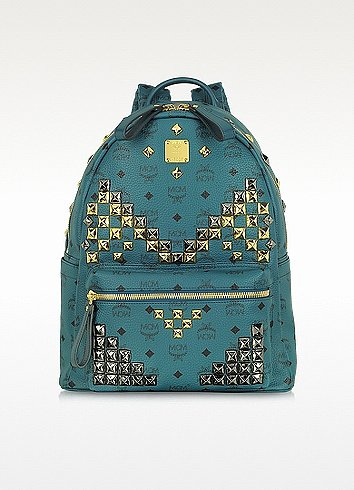 MCM Stark Medium Studded Backpack