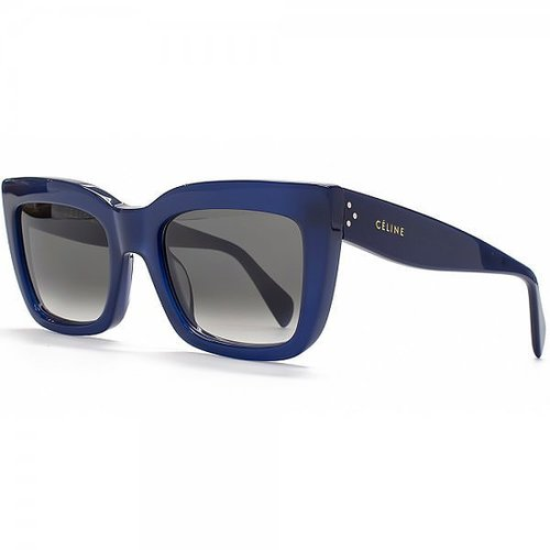 Celine Retro Flared Sunglasses in Navy