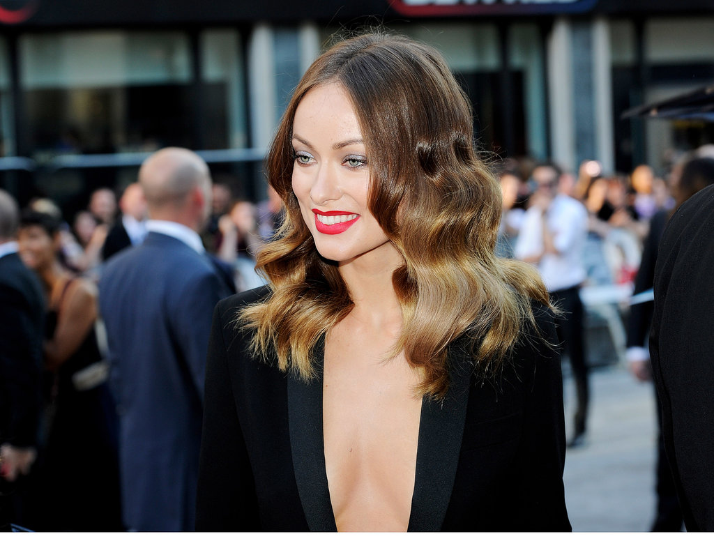 Olivia Wilde attended the world premiere of Rush in London.