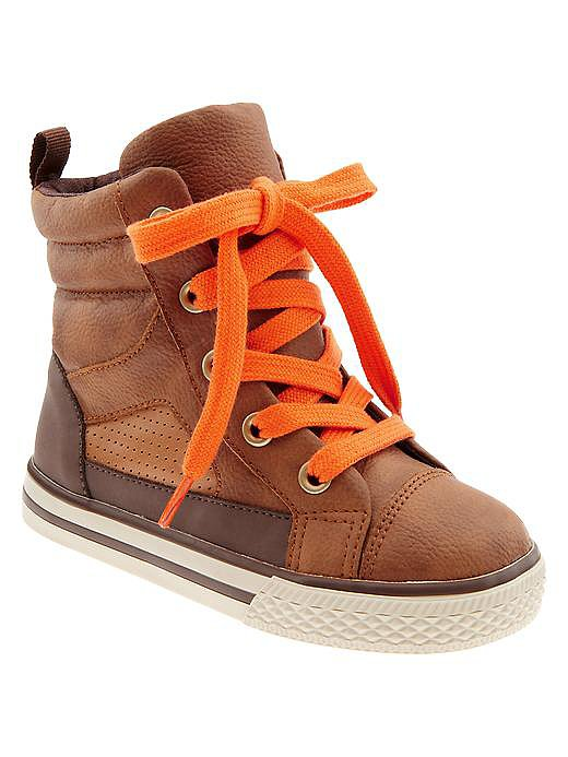 Gap Kids Hi-Top Sneakers