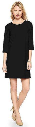 Exposed zipper dress