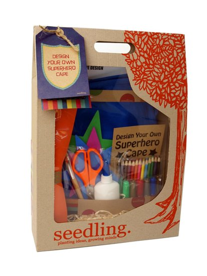Seedling Design-Your-Own Superhero Cape