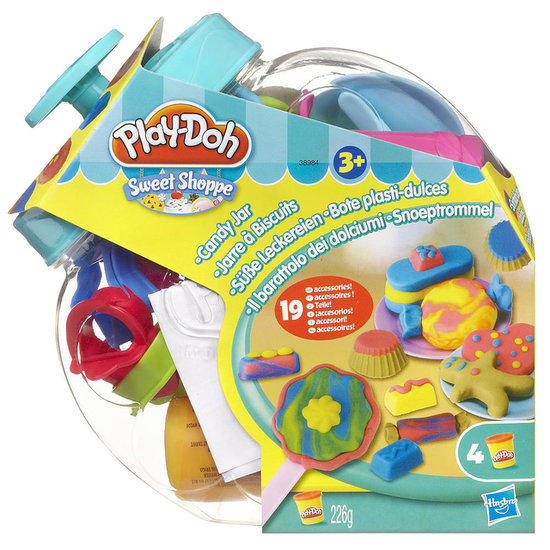 Play-Doh Sweet Shoppe Candy Jar Play Set