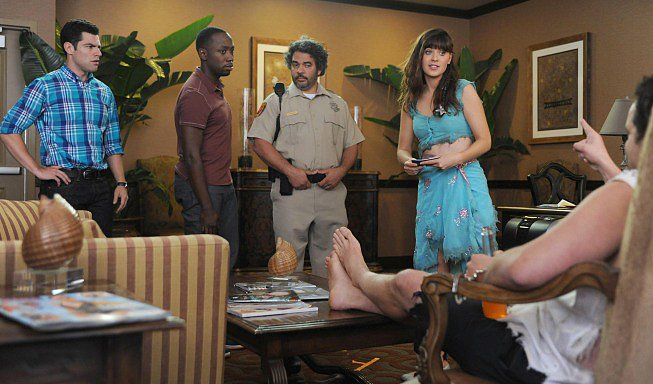 New Girl Cops are never a great sign.