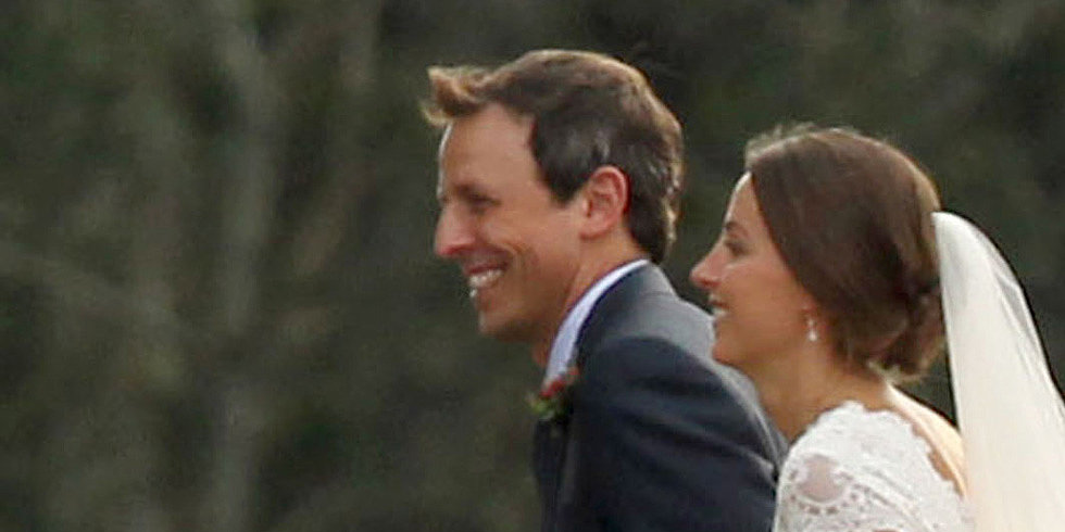 Seth Meyers Marries Alexi Ashe in Martha's Vineyard!