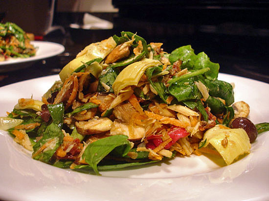 Mushroom and Artichoke Salad With Tuna