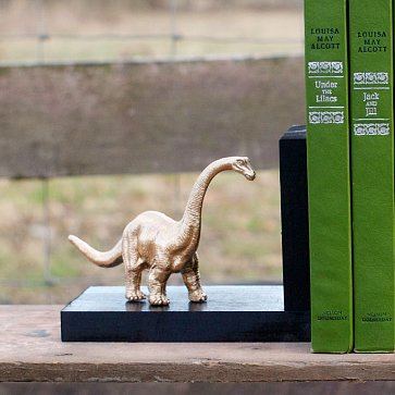 Unique Wooden Bookends