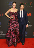 Zac Posen hit the red carpet with Anna Cleveland.